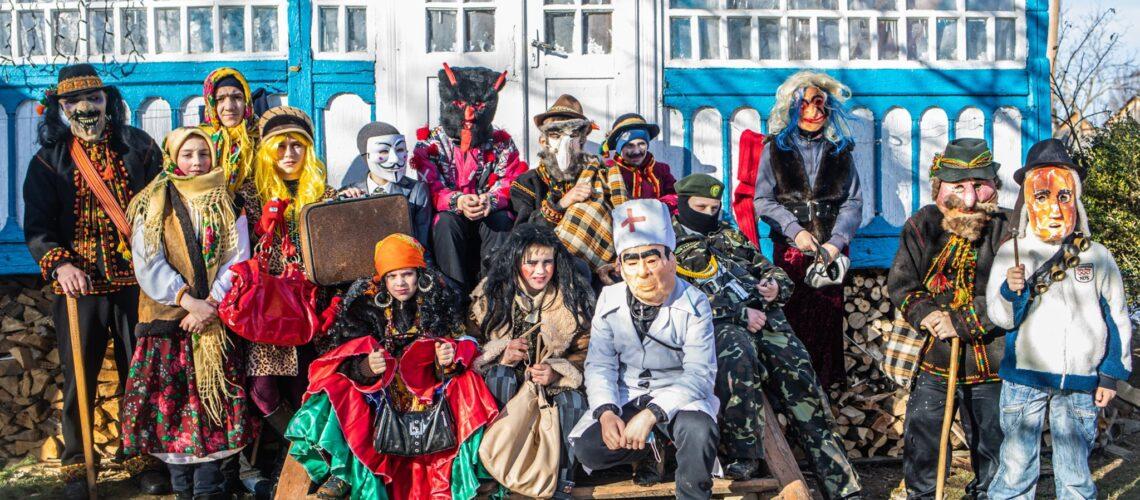 Bohdan Logvynenko and Katya Akvarelna about Photoproject Ukrainer: Malanka. Revival of the Carnival