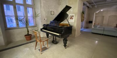 Morning with Collegium Musicum. Grand opening of the piano in the space of the Center (VIDEO)